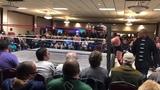 CM Punk returns (masked) to pro wrestling at @MKE_Wrestling on 41919!