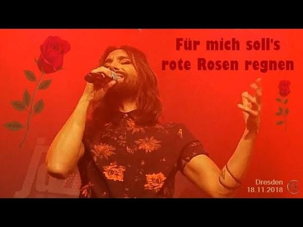 Für mich soll's rote Rosen regnen ConchitaSWSG Erlwein Capitol Dresden 18 11 2018
