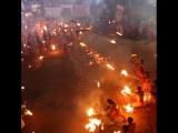 Фестиваль огня в Индии