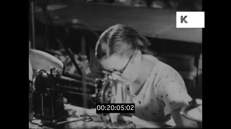 Garment Manufacturing, 1930s UK Factory, Clothing
