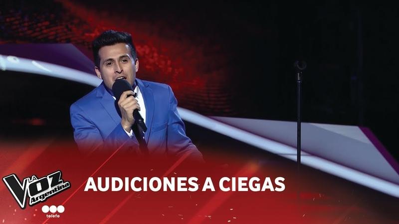 Diego Márquez - O tú o ninguna - Luis Miguel - Audiciones a Ciegas - La Voz Argentina 2018