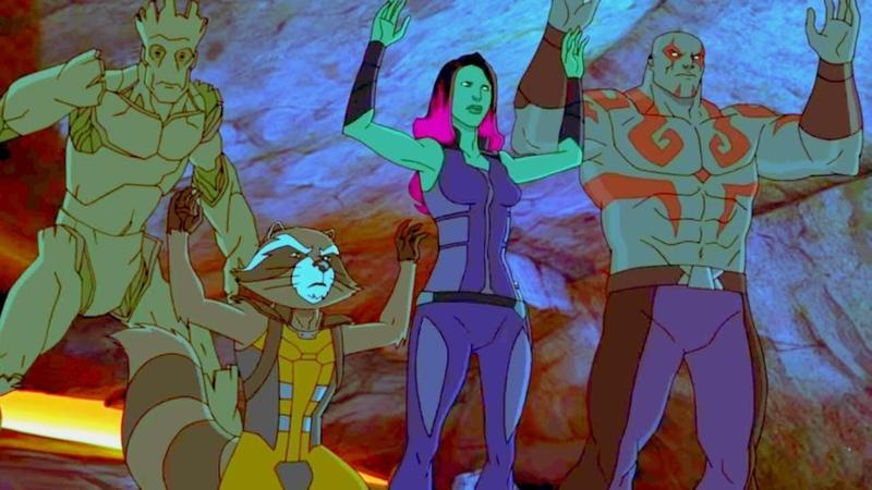 Стражи галактики - мультфильм Marvel – серия 6 сезон 1