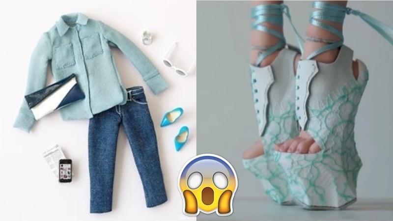 12 Gorgeous diys for your Barbie Amazing Life Hacks