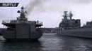 Противолодочный корабль «Североморск» вернулся в Севастополь