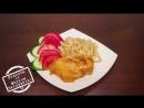 Вкусное куриное филе в сметанно горчичном соусе