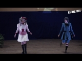 Конкурс косплей дефиле.  Ефимова Алина и Лапаева Евгения