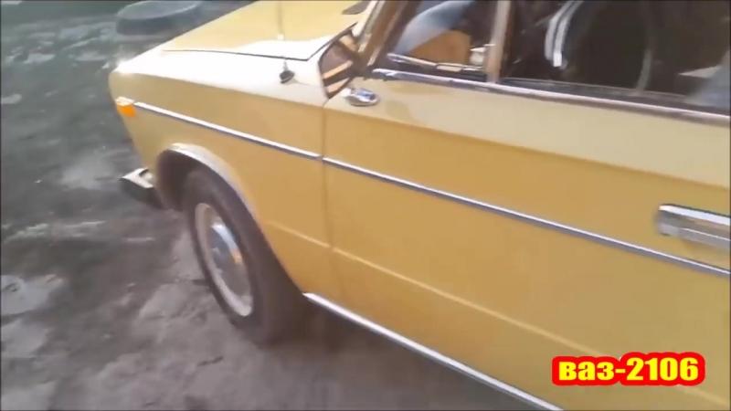 ВАЗ-2106 1977г.в. - Первые шестёрки ИЗ СССР 39лет, а она как новая