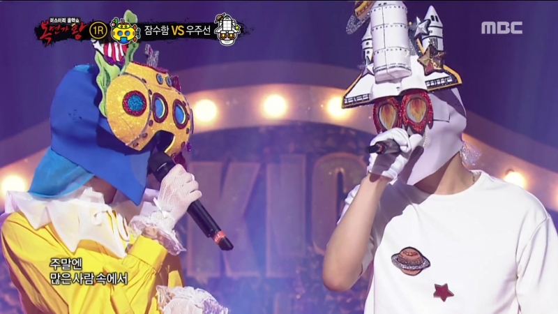 · Show|Perfomance · 180722 · OH MY GIRL (Binnie) - Some · MBC King of Mask Singer ·