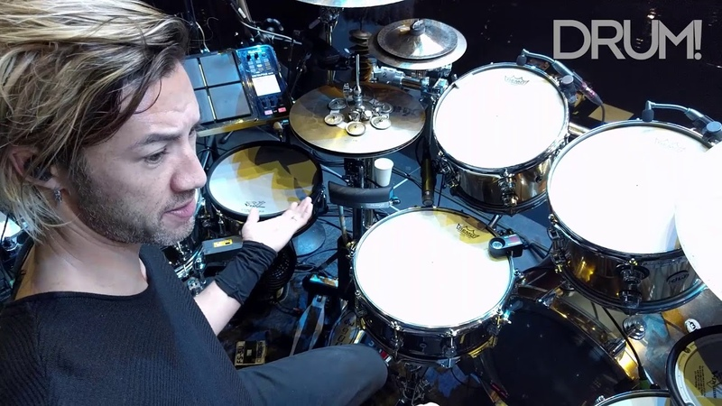 Gear Tour Shakira Drummer Brendan Buckleys Massive ElectronicAcoustic Hybrid Drum Set