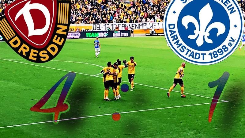 22.09.2018 | Dynamo Dresden vs Darmstadt 98 | Tore