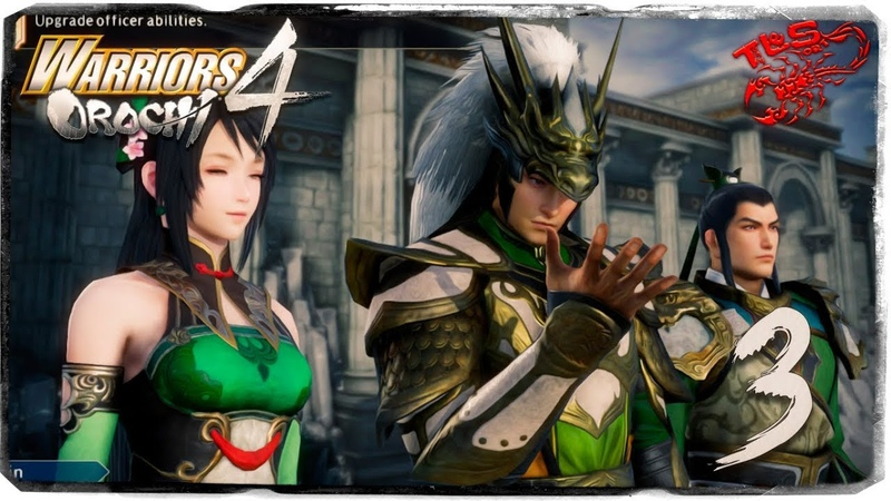 Story Mode ◄ Warriors Orochi 4 ► 3 The Rescue of Takeda