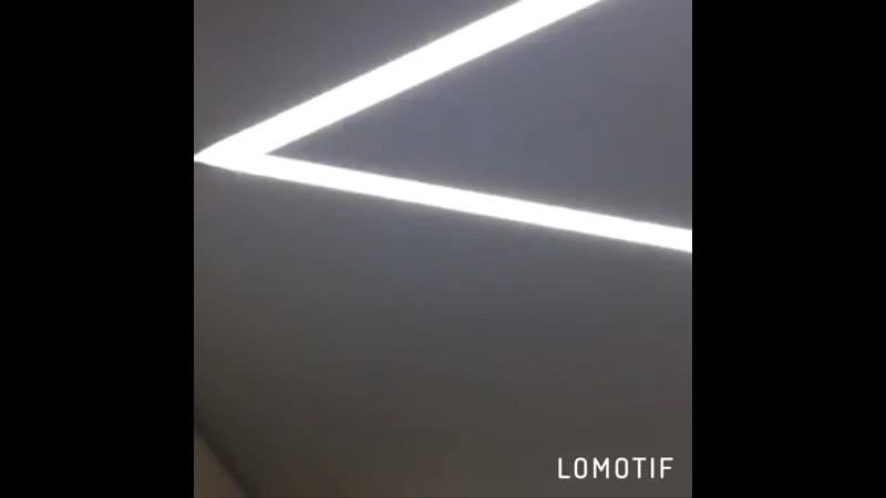 Работа из световых линий и контурного 3D Flexy®️