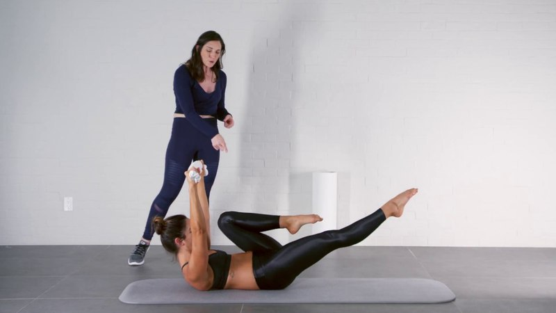 Jette Sette - Pilates Workout w/ Towel