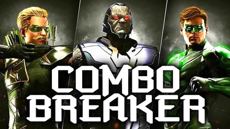 Injustice 2: Combo Breaker 2018 - Full Tournament! [TOP8 Finals] (ft SonicFox, Tweedy, Scar etc)