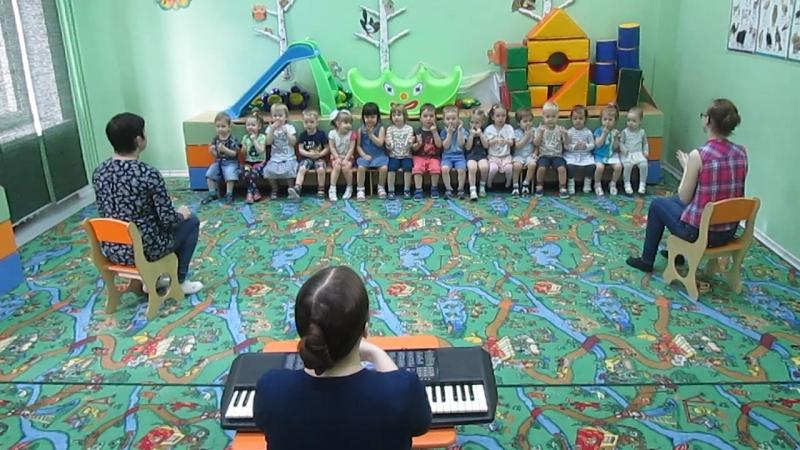 Музыкальное занятие (23.05.18) РАЗМИНКА