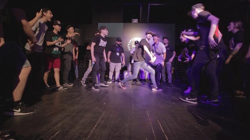 Taker vs Big Out | MAKE NOIZE 2018 | BOYZ PRO | SEMIFINAL