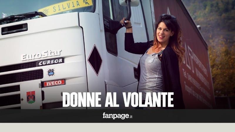 In viaggio con Silvia la camionista più giovane d'Italia Ecco la mia vita a bordo di un tir