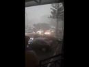 Дождливо и ветрено в Пензе.