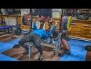 Жим лежа 185 кг и приседания со штангой 230 кг 12.10.2018 года.