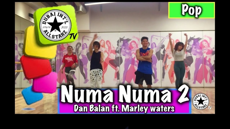 Numa Numa 2  Dan Balan   Dance Fitness   Kram Calaque   Choreography
