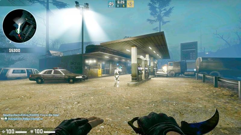 CS:GO - Zombie Escape Mod - ze_barrage_p2 - GFL