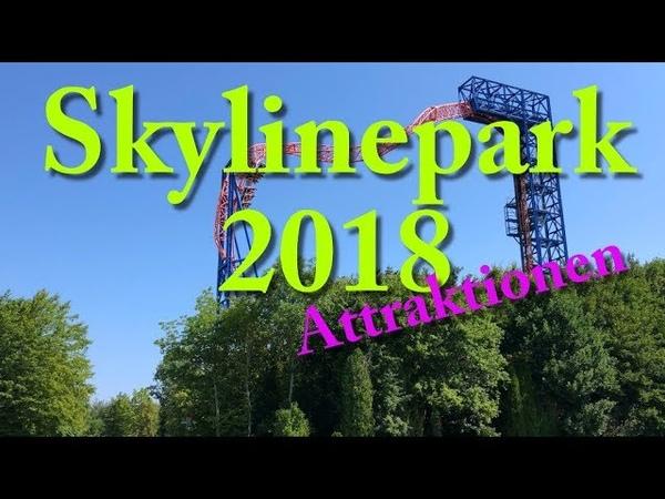 Skylinepark 2018 Attraktionen Impressionen