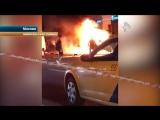 Мерседес с мажором за рулем взорвался в Москве [Нетипичная Махачкала]