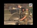Russian troops entering the Abkhazia border