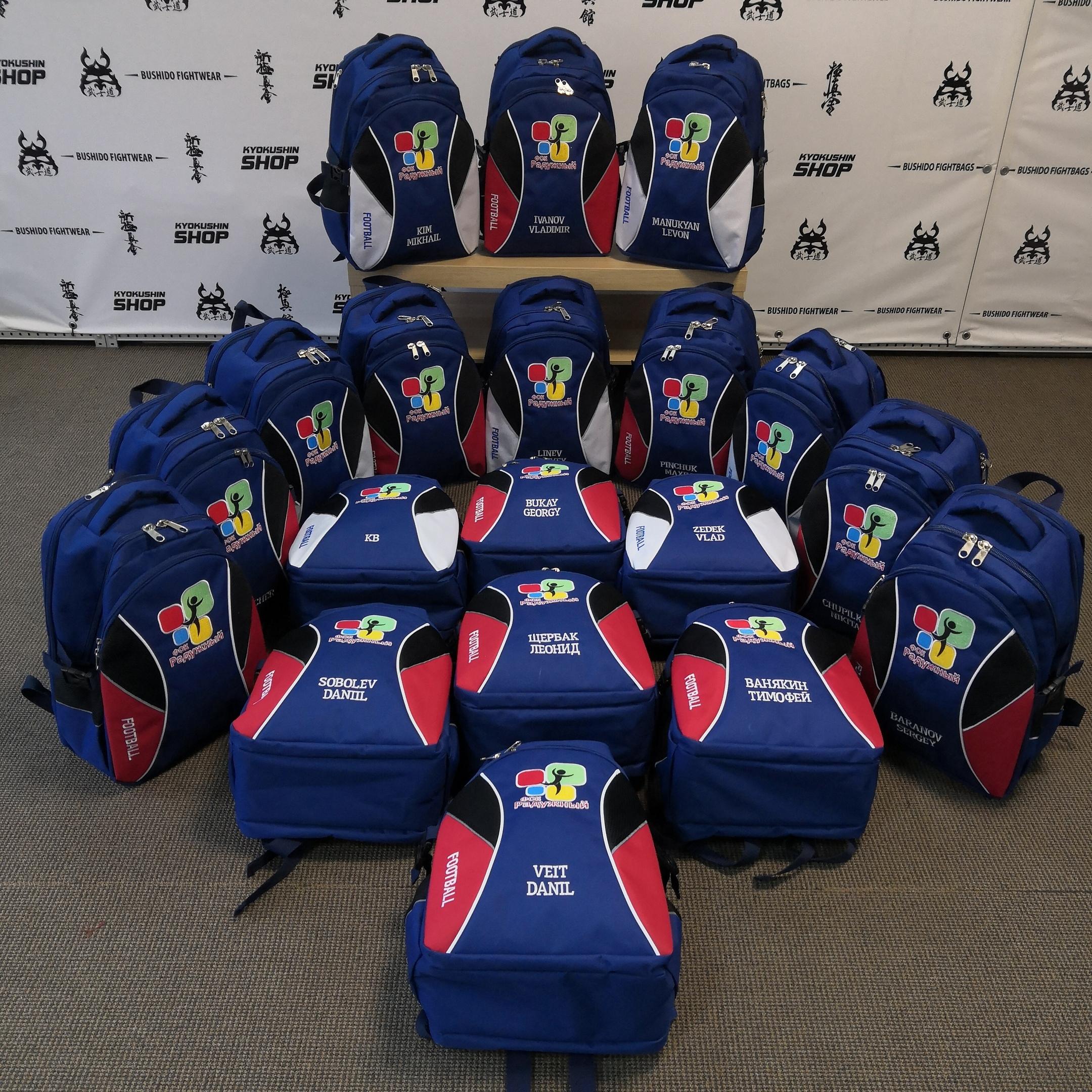 Какой футболист не обрадуется рюкзачку от BUSHIDO FIGHTBAGS?