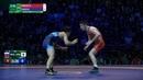 Round 2 FS - 70 kg: A. ZAKUEV (RUS) v. K. SHIGA (JPN)