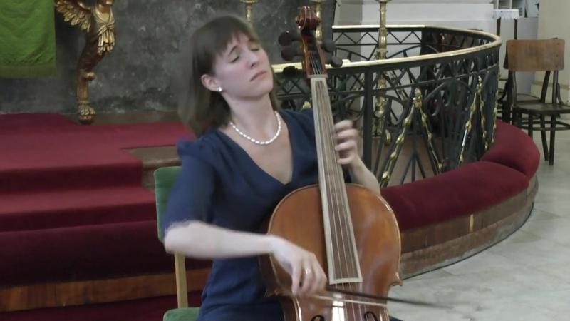 1006 J. S. Bach - Partita para violin solo n. 3, BWV 1006 - Rohmann Ditta, violoncello piccolo