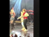 Алла Пугачева и Максим Галкин на концерте Кристины