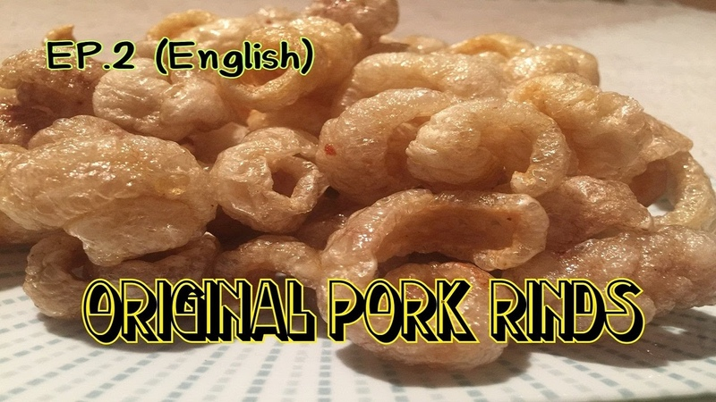 How to make Pork Rinds - by nidnoi
