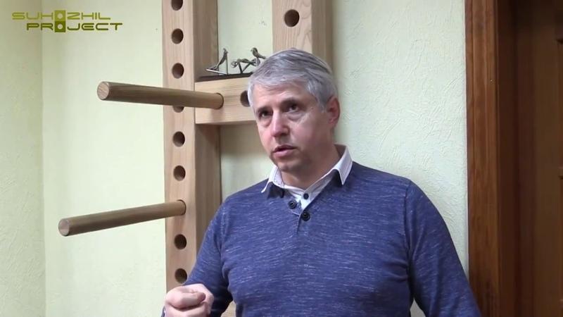 The unique author's technique of isometric exercises Suhozhil