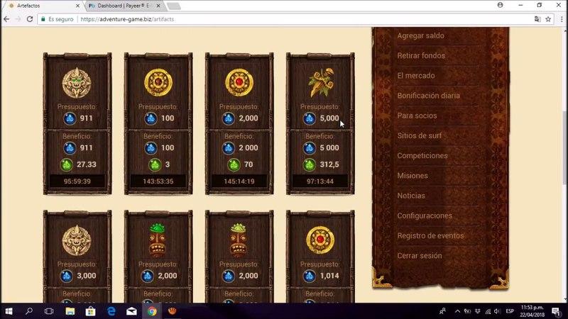 ADVENTURE GAME nueva pagina para ganar rublos