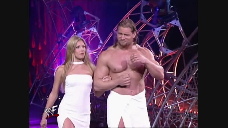Val Venis Vs Ken Shamrock - Intercontinental Championship - Billy Gunn As Guest Referee - St. Valentines Day Massacre 1999