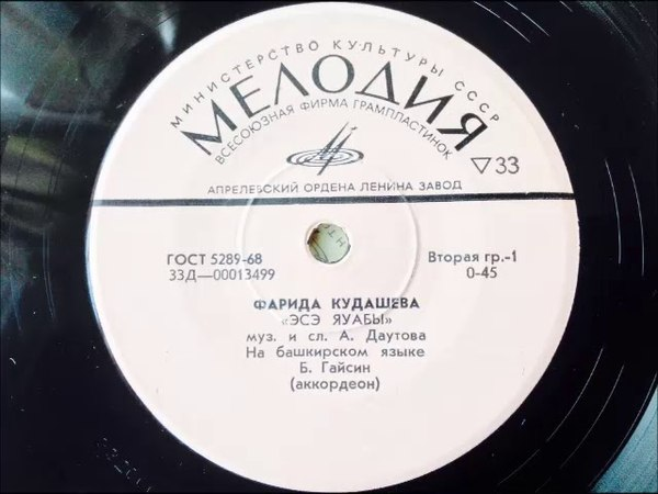 Farida Kudasheva Ese Yauabi - Bashkir Song