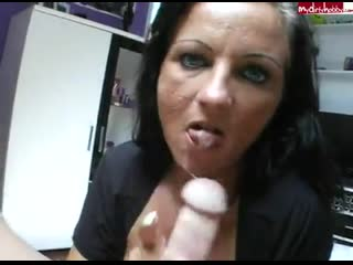 Candy samira - german handjob dirty talk deutsch