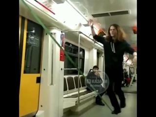 Цирк Дю Солей в казанском метро