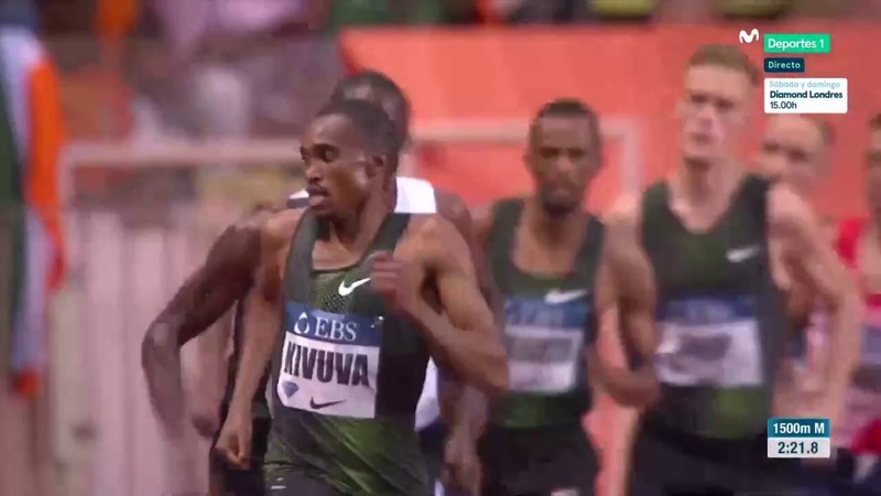 Men 1500m Diamond League Monaco 2018