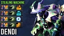Dendi Rubick Stealing Machine with Arcana One EPIC Game = a Lot of Ultimates Stolen Dota 2