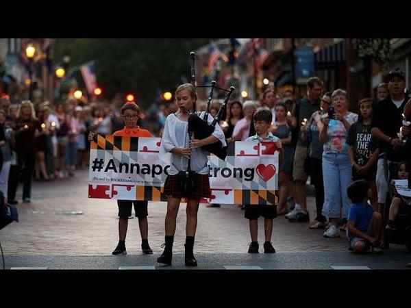 Мэриленд прощается с убитыми журналистами