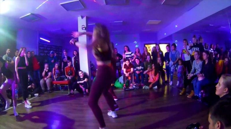 BOMBOCLAAT PARTY DANCEHALL 2*2 12 BABINA MEGAN vs VITALINA POLINA