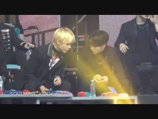 190106 GDA | TaeKook moment