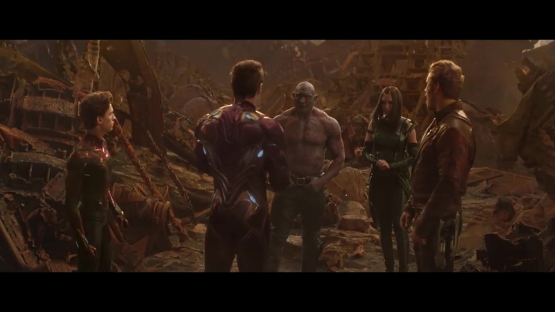 AVENGERS INFINITY WAR Avengers VS Thanos Fight (4K ULTRA HD)