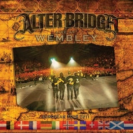Alter Bridge альбом Live at Wembley-European Tour 2011
