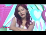 180818 Arirang Simply K-Pop.Berry Good - Mellow Mellow + Green Apple