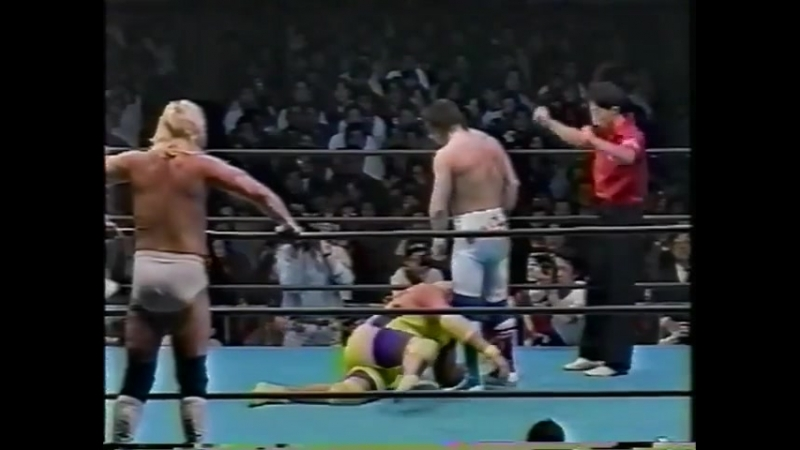 1991.12.06 - Dynamite KidJohnny Smith vs. Johnny AceSunny Beach
