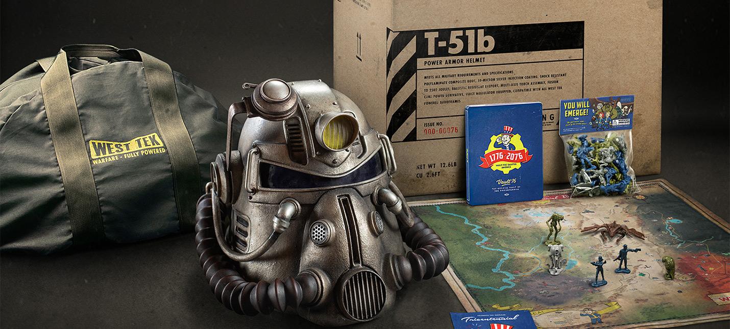 Коллекционое издания Fallout 76: Power Armor Edition распроданы и Bethesda больше не будет выпускать его.
