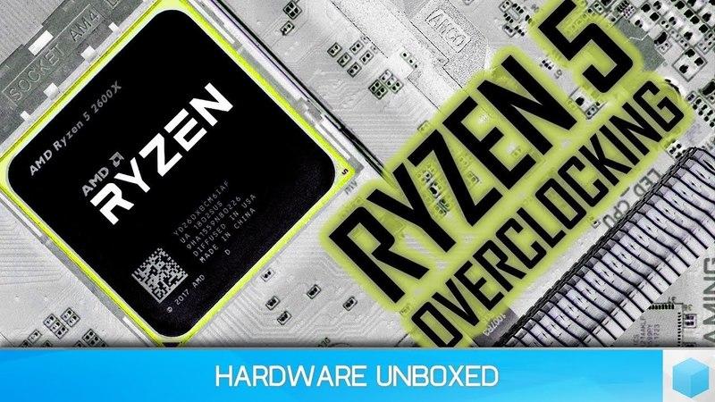 Ryzen 5 2600X Overclocking Tweaking Methods Explored, Spend $$$ on Cooling or RAM?